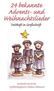 Weihnachtsliederbuch Deckblatt